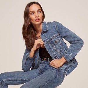 NWT Reformation Jeans Jacket